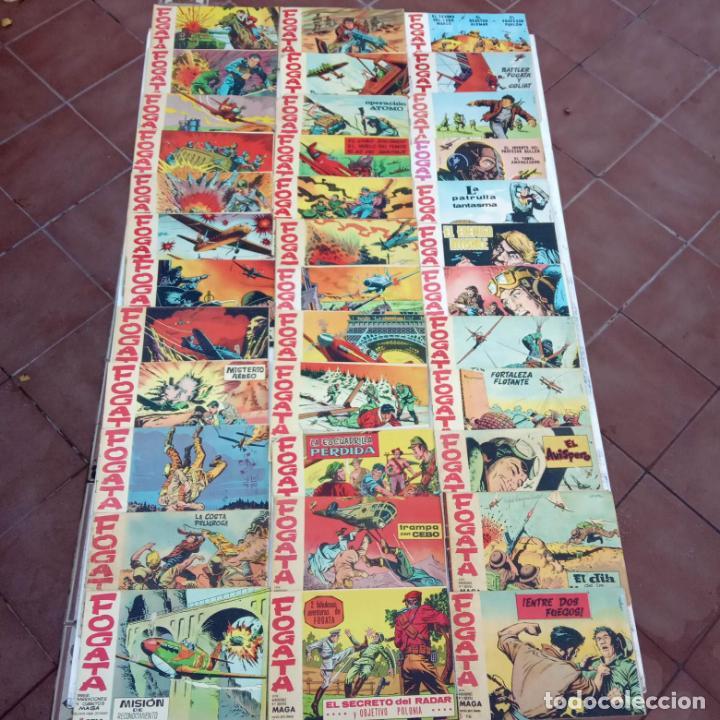 FOGATA 36 NºS ORIGINALES , 17 SIN CIRCULAR - EDITORIAL MAGA 1963 VER PORTADAS (Tebeos y Comics - Maga - Otros)