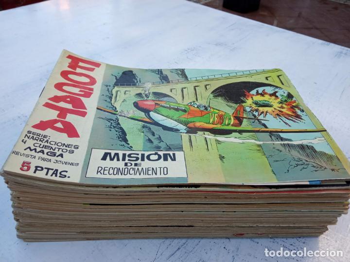 Tebeos: FOGATA 36 NºS ORIGINALES , 17 SIN CIRCULAR - EDITORIAL MAGA 1963 VER PORTADAS - Foto 3 - 142404022
