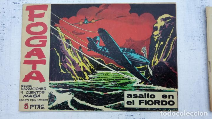 Tebeos: FOGATA 36 NºS ORIGINALES , 17 SIN CIRCULAR - EDITORIAL MAGA 1963 VER PORTADAS - Foto 9 - 142404022