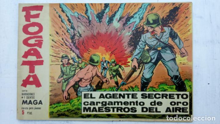 Tebeos: FOGATA 36 NºS ORIGINALES , 17 SIN CIRCULAR - EDITORIAL MAGA 1963 VER PORTADAS - Foto 13 - 142404022
