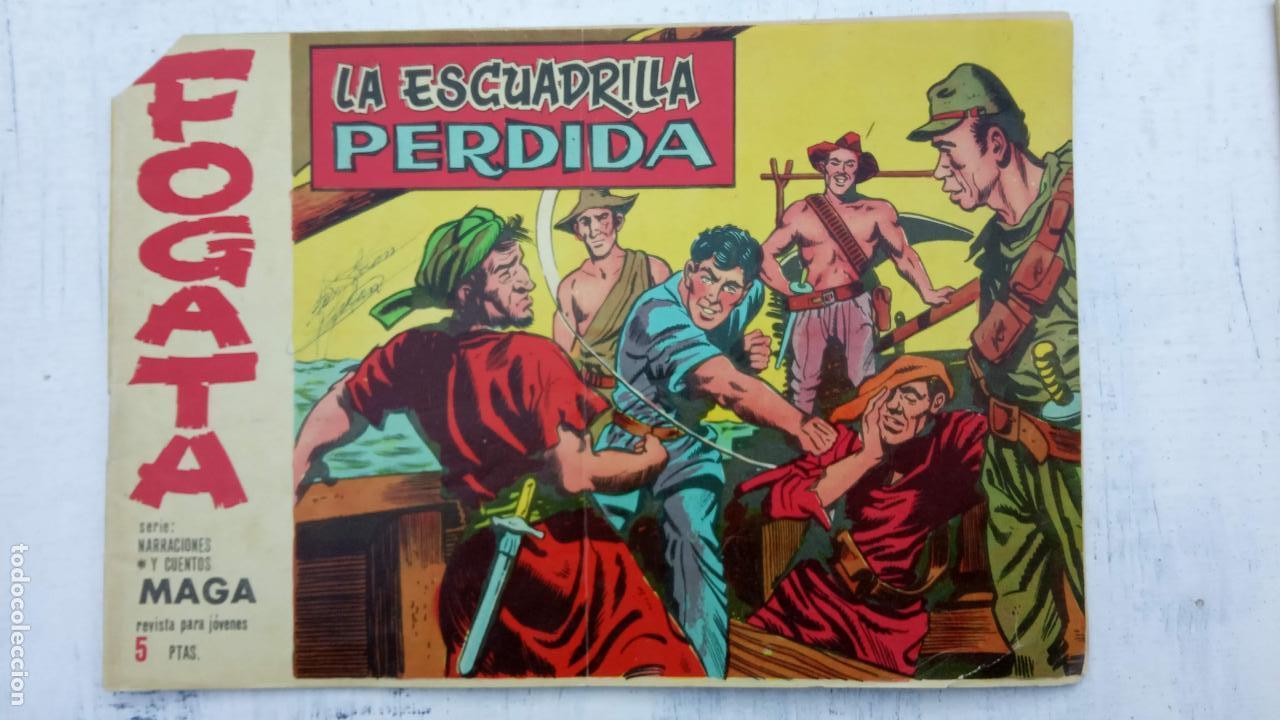 Tebeos: FOGATA 36 NºS ORIGINALES , 17 SIN CIRCULAR - EDITORIAL MAGA 1963 VER PORTADAS - Foto 16 - 142404022