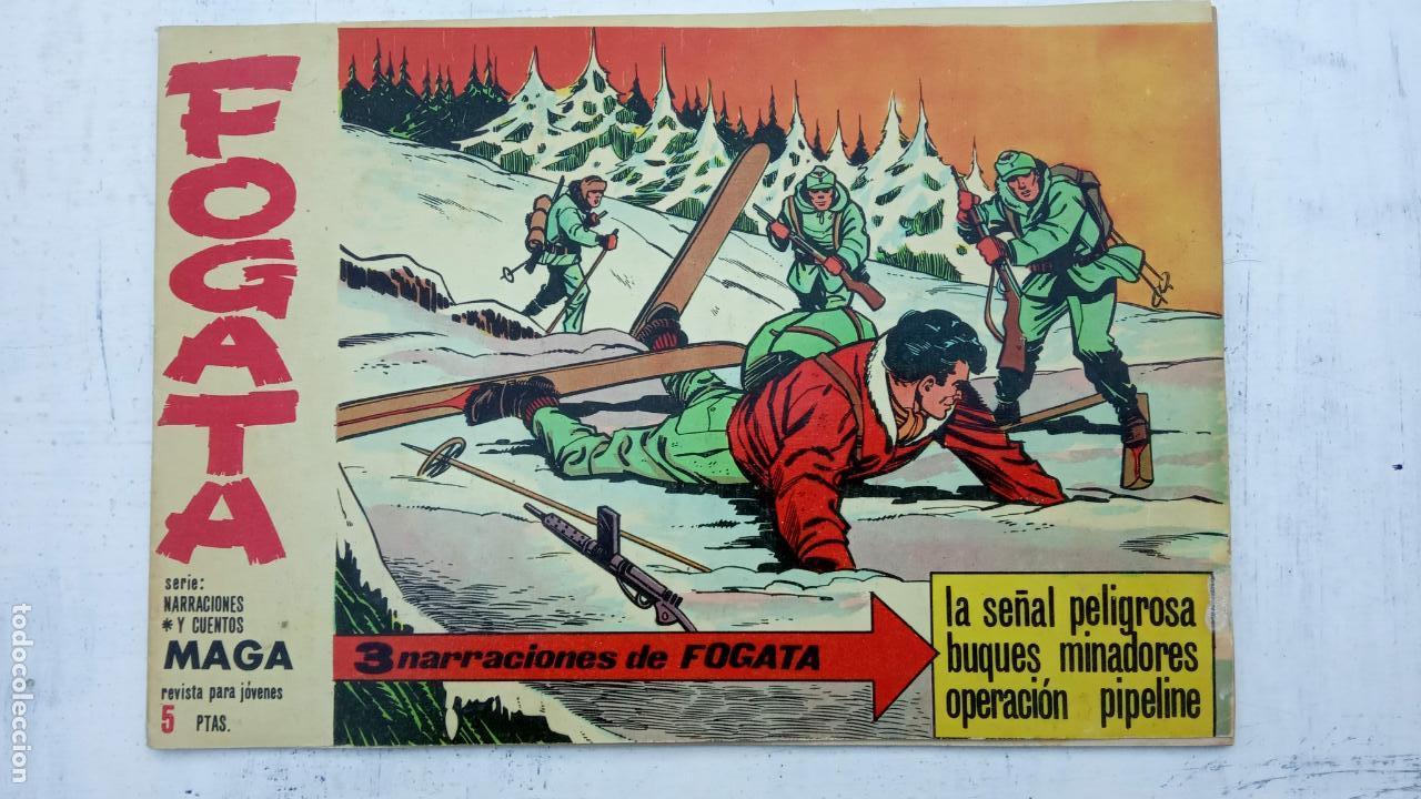 Tebeos: FOGATA 36 NºS ORIGINALES , 17 SIN CIRCULAR - EDITORIAL MAGA 1963 VER PORTADAS - Foto 17 - 142404022