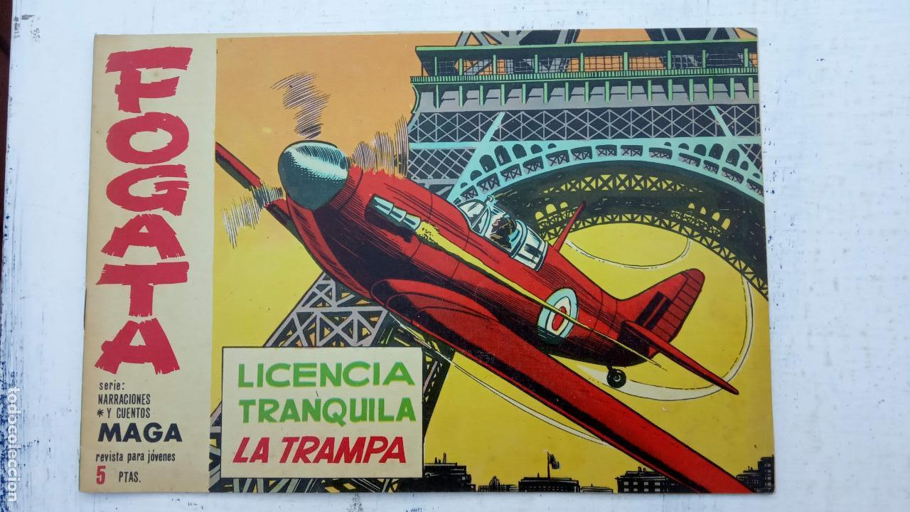 Tebeos: FOGATA 36 NºS ORIGINALES , 17 SIN CIRCULAR - EDITORIAL MAGA 1963 VER PORTADAS - Foto 18 - 142404022