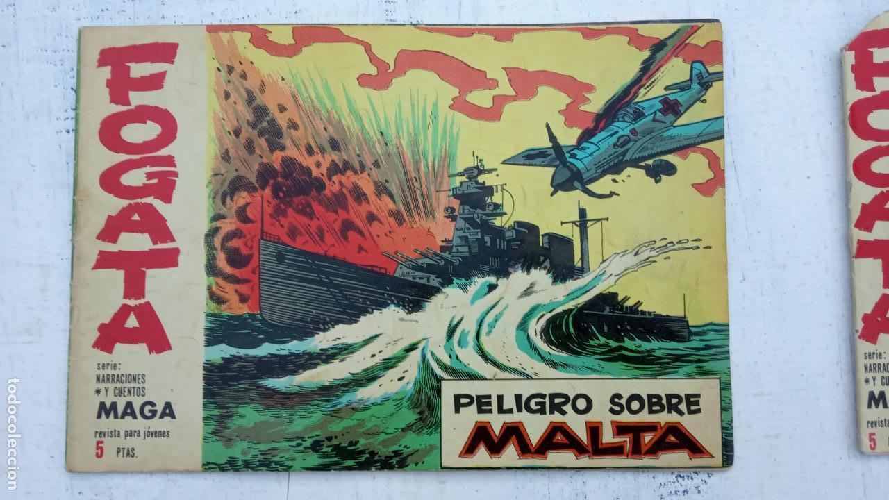 Tebeos: FOGATA 36 NºS ORIGINALES , 17 SIN CIRCULAR - EDITORIAL MAGA 1963 VER PORTADAS - Foto 20 - 142404022