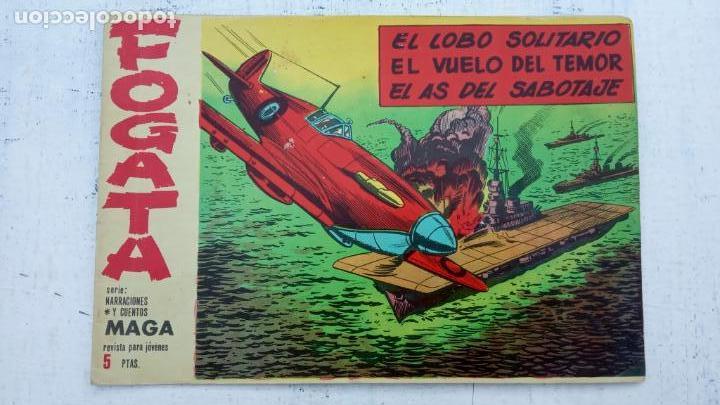 Tebeos: FOGATA 36 NºS ORIGINALES , 17 SIN CIRCULAR - EDITORIAL MAGA 1963 VER PORTADAS - Foto 21 - 142404022