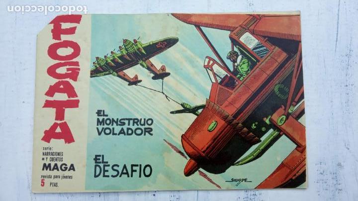 Tebeos: FOGATA 36 NºS ORIGINALES , 17 SIN CIRCULAR - EDITORIAL MAGA 1963 VER PORTADAS - Foto 24 - 142404022