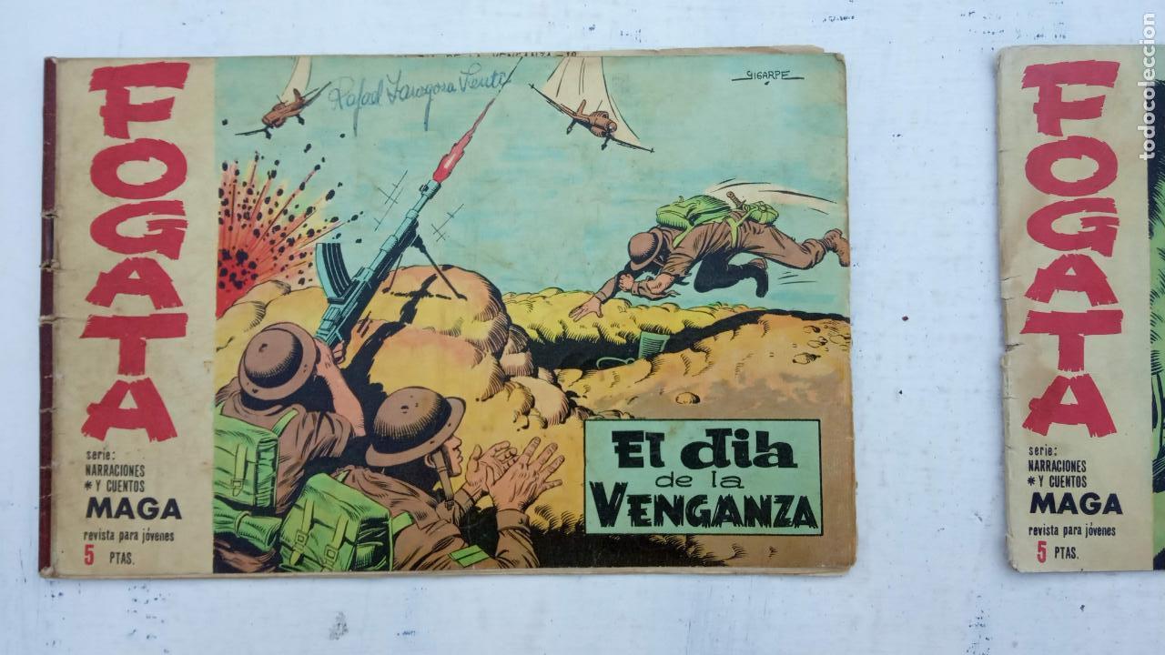 Tebeos: FOGATA 36 NºS ORIGINALES , 17 SIN CIRCULAR - EDITORIAL MAGA 1963 VER PORTADAS - Foto 25 - 142404022