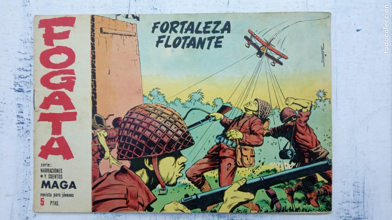 Tebeos: FOGATA 36 NºS ORIGINALES , 17 SIN CIRCULAR - EDITORIAL MAGA 1963 VER PORTADAS - Foto 28 - 142404022