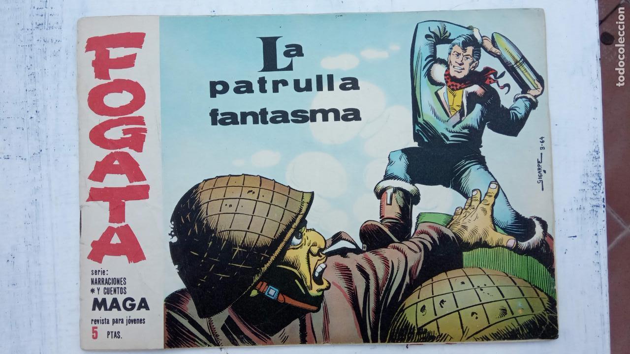 Tebeos: FOGATA 36 NºS ORIGINALES , 17 SIN CIRCULAR - EDITORIAL MAGA 1963 VER PORTADAS - Foto 32 - 142404022