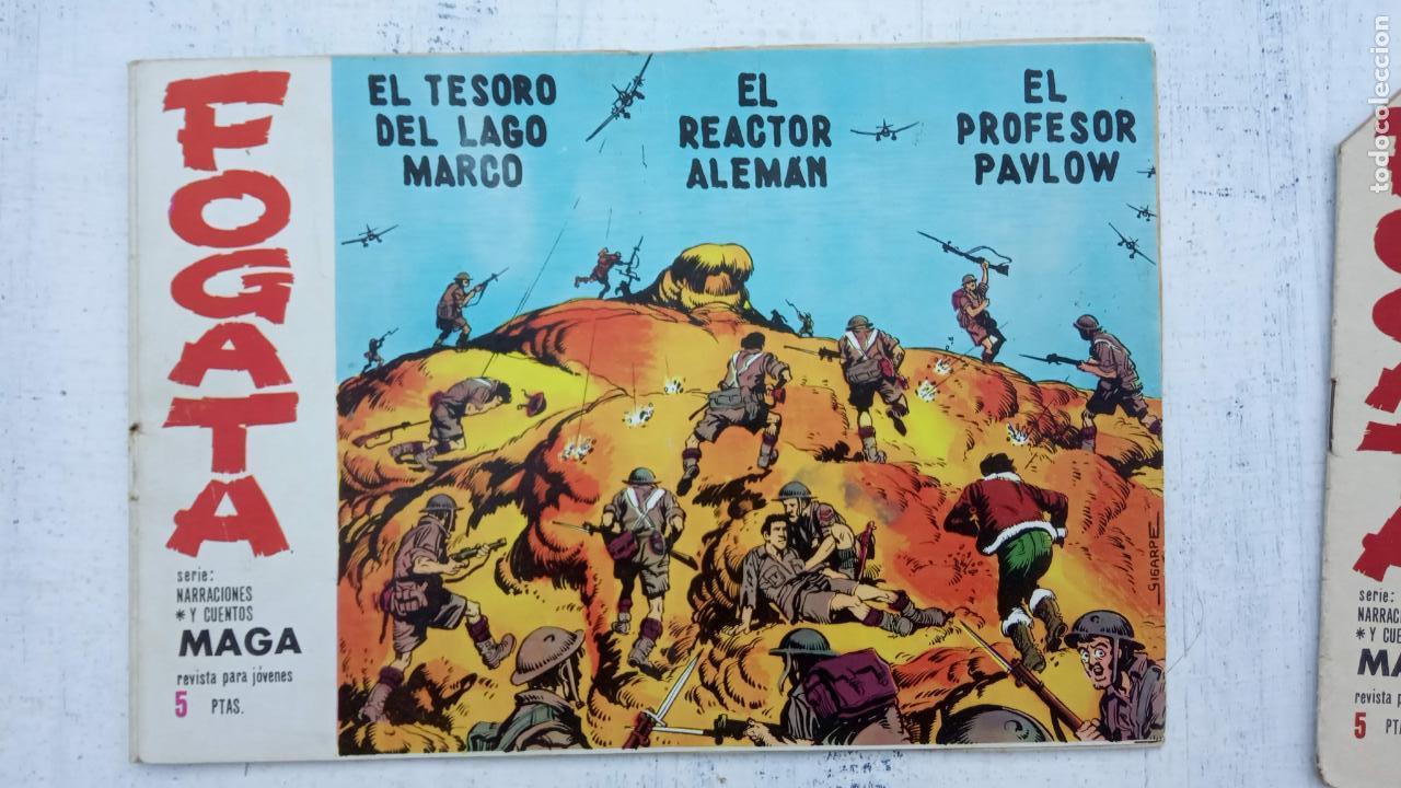 Tebeos: FOGATA 36 NºS ORIGINALES , 17 SIN CIRCULAR - EDITORIAL MAGA 1963 VER PORTADAS - Foto 35 - 142404022