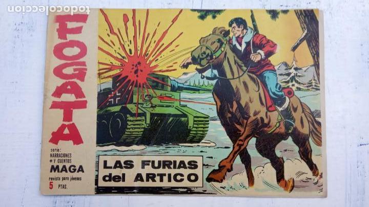 Tebeos: FOGATA 36 NºS ORIGINALES , 17 SIN CIRCULAR - EDITORIAL MAGA 1963 VER PORTADAS - Foto 38 - 142404022