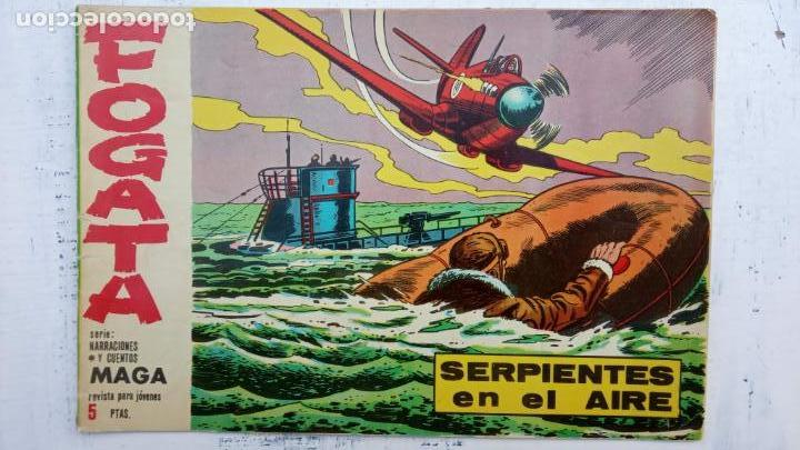 Tebeos: FOGATA 36 NºS ORIGINALES , 17 SIN CIRCULAR - EDITORIAL MAGA 1963 VER PORTADAS - Foto 41 - 142404022