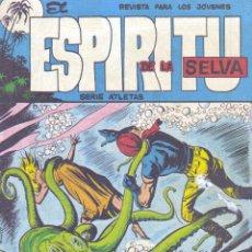Tebeos: ESPIRITU DE LA SELVA Nº6 (EDITORIAL MAGA, 1962) ORIGINAL. Lote 142810870