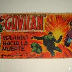 Tebeos: COMIC EL GAVILAN VOLANDO HACIA LA MUERTE Nº 20 ORIGINAL. Lote 143019170