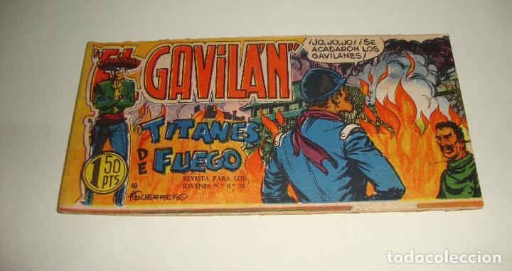 COMIC EL GAVILAN TITANES DE FUEGO Nº 18 ORIGINAL (Tebeos y Comics - Maga - Otros)
