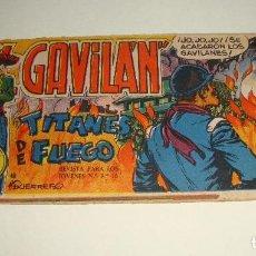 Tebeos: COMIC EL GAVILAN TITANES DE FUEGO Nº 18 ORIGINAL. Lote 143019186
