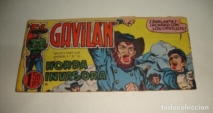 COMIC EL GAVILAN HORDA INVASORA Nº 17 ORIGINAL (Tebeos y Comics - Maga - Otros)