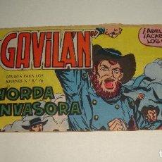 Tebeos: COMIC EL GAVILAN HORDA INVASORA Nº 17 ORIGINAL. Lote 143019190
