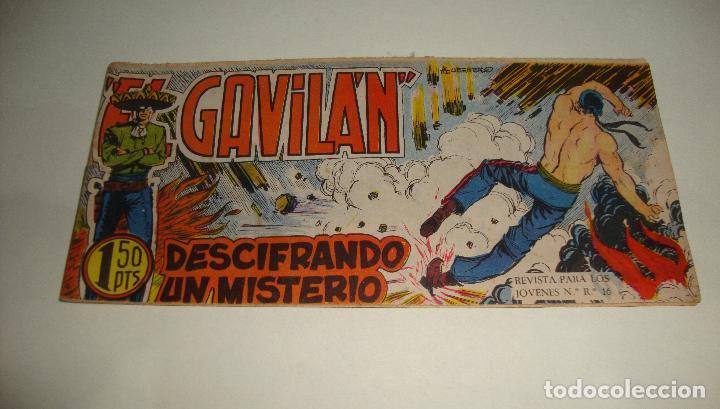 COMIC EL GAVILAN DESCIFRANDO UN MISTERIO Nº 13 ORIGINAL (Tebeos y Comics - Maga - Otros)