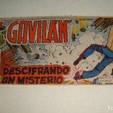 Tebeos: COMIC EL GAVILAN DESCIFRANDO UN MISTERIO Nº 13 ORIGINAL. Lote 143019210