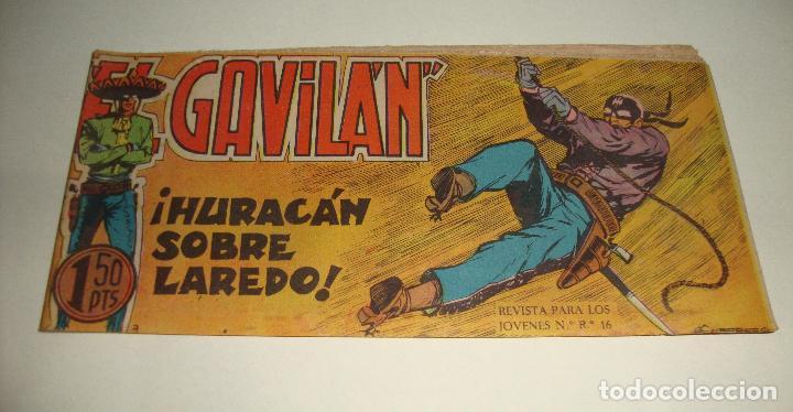 COMIC EL GAVILAN HURACAN SOBRE LAREDO Nº 9 ORIGINAL (Tebeos y Comics - Maga - Otros)