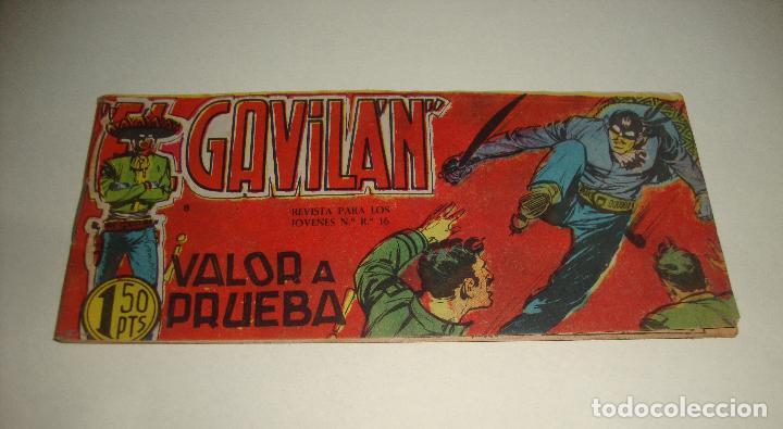 COMIC EL GAVILAN VALOR A PRUEBA Nº 8 ORIGINAL (Tebeos y Comics - Maga - Otros)