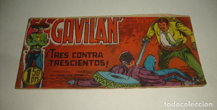 COMIC EL GAVILAN TRES CONTRA TRESCIENTOS Nº 6 ORIGINAL (Tebeos y Comics - Maga - Otros)