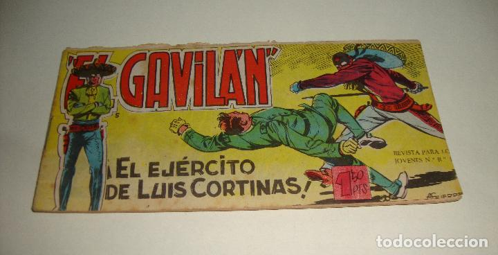 COMIC EL GAVILAN EL EJERCITO DE LUIS CORTINAS Nº 5 ORIGINAL (Tebeos y Comics - Maga - Otros)