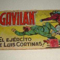 Tebeos: COMIC EL GAVILAN EL EJERCITO DE LUIS CORTINAS Nº 5 ORIGINAL. Lote 143019294