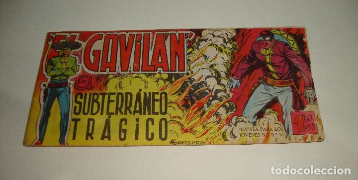COMIC EL GAVILAN SUBTERRANEO TRAGICO Nº 4 ORIGINAL (Tebeos y Comics - Maga - Otros)
