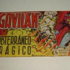 Tebeos: COMIC EL GAVILAN SUBTERRANEO TRAGICO Nº 4 ORIGINAL. Lote 143019302