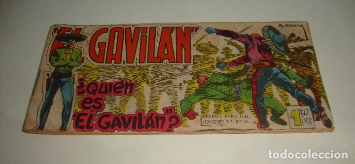 COMIC EL GAVILAN QUIE ES EL GAVILAN Nº 2 ORIGINAL (Tebeos y Comics - Maga - Otros)