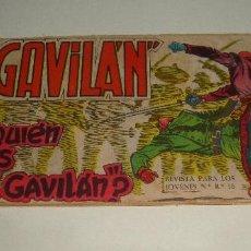 Tebeos: COMIC EL GAVILAN QUIE ES EL GAVILAN Nº 2 ORIGINAL. Lote 143019326