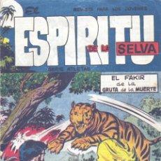 Tebeos: ESPIRITU DE LA SELVA Nº16 (EDITORIAL MAGA, 1962) ORIGINAL. Lote 143189958