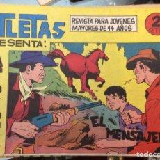 Tebeos: LOTE DE 25 CÓMICS ATLETAS PRESENTA ÁFRICA. Lote 143318526