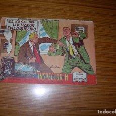 Tebeos: INSPECTOR H Nº 20 EDITA MAGA . Lote 143703502