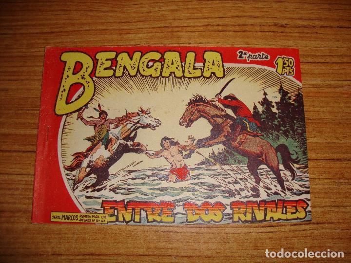 BENGALA 2 PARTE EDITORIAL MAGA ORIGINAL Nº II - 34 (Tebeos y Comics - Maga - Bengala)