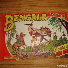 Tebeos: BENGALA 2 PARTE EDITORIAL MAGA ORIGINAL Nº II - 33. Lote 143774942