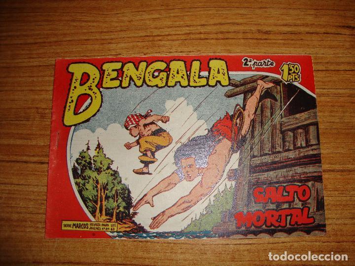 BENGALA 2 PARTE EDITORIAL MAGA ORIGINAL Nº II - 31 (Tebeos y Comics - Maga - Bengala)