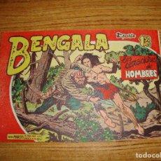 Tebeos: BENGALA 2 PARTE EDITORIAL MAGA ORIGINAL Nº II - 29. Lote 143775014