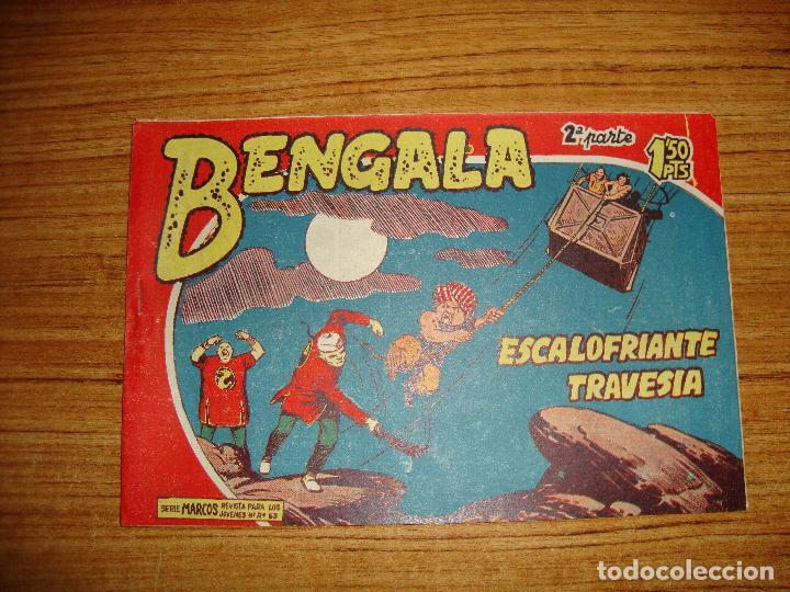 BENGALA 2 PARTE EDITORIAL MAGA ORIGINAL Nº II - 27 (Tebeos y Comics - Maga - Bengala)