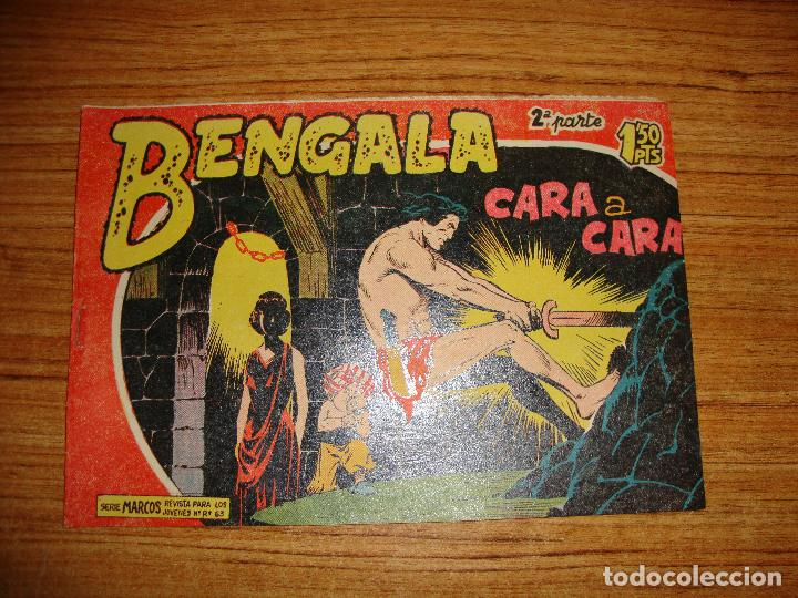 BENGALA 2 PARTE EDITORIAL MAGA ORIGINAL Nº II - 24 (Tebeos y Comics - Maga - Bengala)