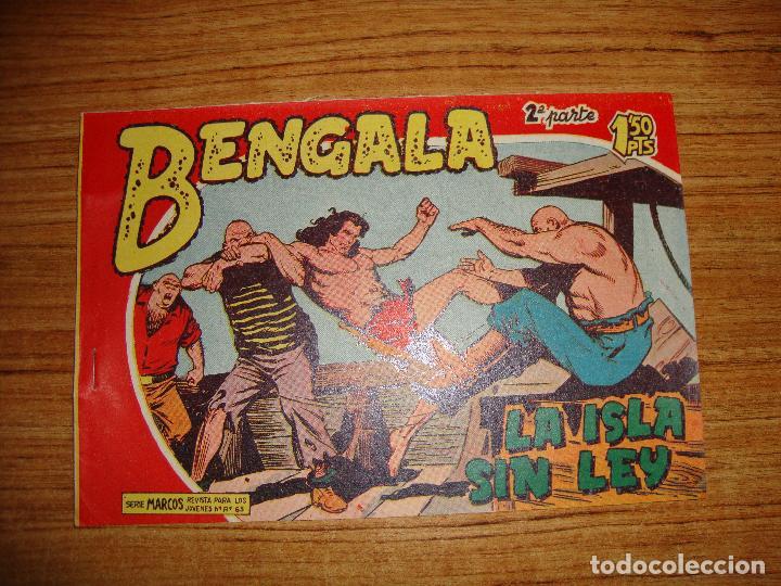 BENGALA 2 PARTE EDITORIAL MAGA ORIGINAL Nº II - 18 (Tebeos y Comics - Maga - Bengala)