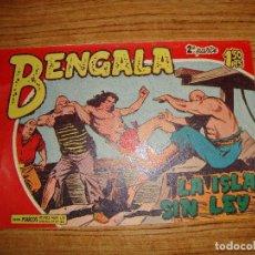Tebeos: BENGALA 2 PARTE EDITORIAL MAGA ORIGINAL Nº II - 18. Lote 143775190