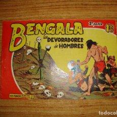 Tebeos: BENGALA 2 PARTE EDITORIAL MAGA ORIGINAL Nº II - 15. Lote 143775238