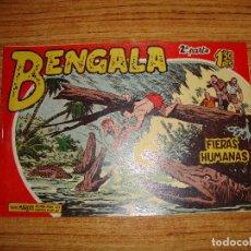 Tebeos: BENGALA 2 PARTE EDITORIAL MAGA ORIGINAL Nº II - 12. Lote 143775266