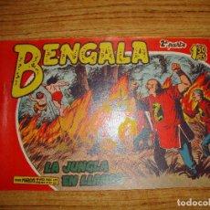 Tebeos: BENGALA 2 PARTE EDITORIAL MAGA ORIGINAL Nº II - 11. Lote 143775290
