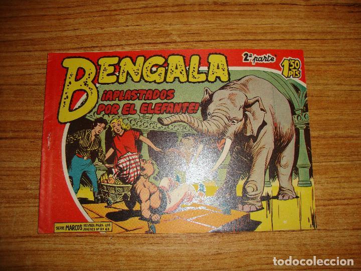 BENGALA 2 PARTE EDITORIAL MAGA ORIGINAL Nº II - 5 (Tebeos y Comics - Maga - Bengala)