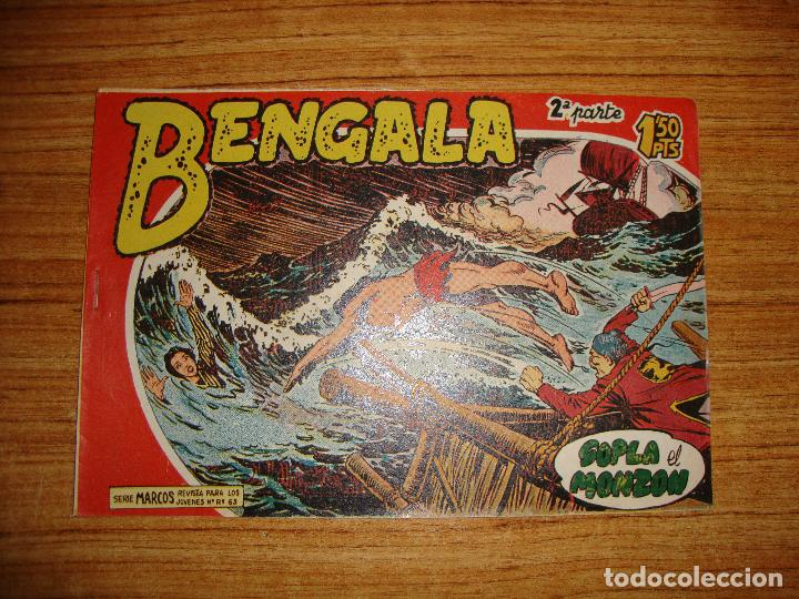 BENGALA 2 PARTE EDITORIAL MAGA ORIGINAL Nº II - 4 (Tebeos y Comics - Maga - Bengala)