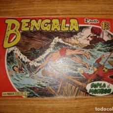Tebeos: BENGALA 2 PARTE EDITORIAL MAGA ORIGINAL Nº II - 4. Lote 143775410